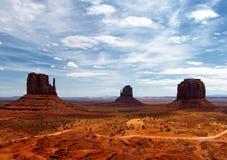 De Vallei van het monument - Panorama Royalty-vrije Stock Fotografie