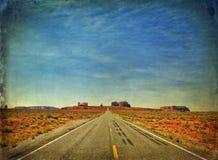 De vallei van het monument in Utah, 163 tusen staten, de V.S. royalty-vrije stock foto's