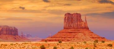 De vallei van het monument, Utah royalty-vrije stock foto