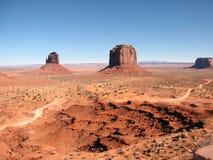 De Vallei van het monument, Utah Royalty-vrije Stock Foto's