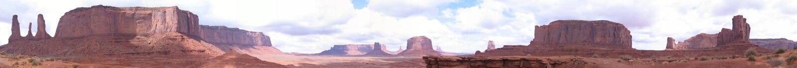 De Vallei van het monument, Utah Stock Afbeelding