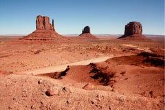De Vallei van het monument, Utah Stock Foto