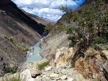 De vallei van Himalayan royalty-vrije stock afbeelding