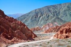 De Vallei van Humahuaca Royalty-vrije Stock Afbeelding