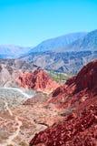 De Vallei van Humahuaca Stock Afbeelding