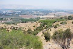 De Vallei van Jordanië Royalty-vrije Stock Afbeelding