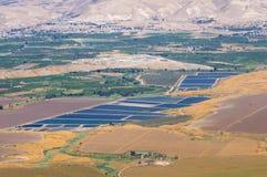 De vallei van Jordanië royalty-vrije stock foto