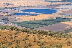 De vallei van Jordanië royalty-vrije stock fotografie