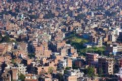 De Vallei van Katmandu - Nepal Stock Afbeelding
