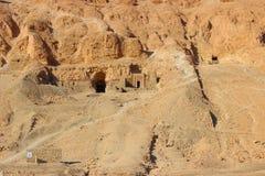 De Vallei van Koningen dichtbij Luxor Royalty-vrije Stock Fotografie