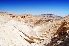 De Vallei van de Koningen, Egypte stock foto