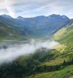 De vallei van La Fouly Royalty-vrije Stock Foto's
