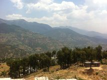 De vallei van Leh Stock Fotografie