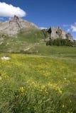 De vallei van Maira Royalty-vrije Stock Afbeeldingen