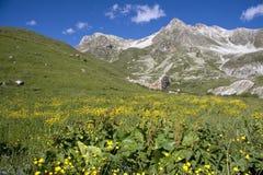 De vallei van Maira Royalty-vrije Stock Fotografie