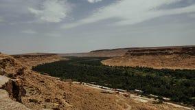 De Vallei van Marokko Draa stock afbeelding