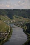 De vallei van Moezel Royalty-vrije Stock Foto
