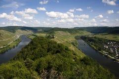 De vallei van Moezel Royalty-vrije Stock Afbeelding