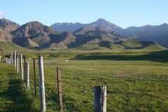 De vallei van Molesworth, schilderachtig Nieuw Zeeland royalty-vrije stock afbeeldingen