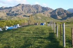 De vallei van Molesworth, schilderachtig Nieuw Zeeland Stock Afbeelding