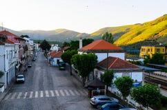 De vallei van rivierdouro, Portugal Stock Afbeelding