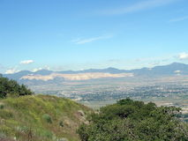De Vallei van Salt Lake Stock Afbeeldingen