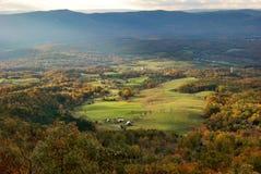 De Vallei van Shenandoah, Virginia Stock Fotografie