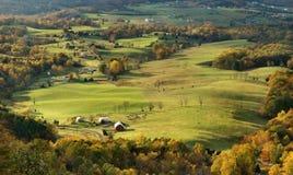 De Vallei van Shenandoah, Virginia Stock Foto