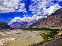 De Vallei van Shigar royalty-vrije stock foto's