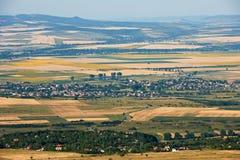De vallei van Sofia, Bulgarije in de zomer Stock Afbeeldingen