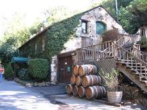 De Vallei van Sonoma van de wijnmakerij Stock Afbeeldingen