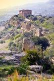 De Vallei van tempels Stock Foto's