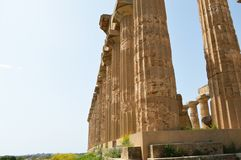 De Vallei van de Tempels van Agrigento - Italië 013 Stock Foto