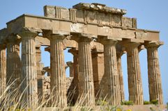 De Vallei van de Tempels van Agrigento - Italië 018 Royalty-vrije Stock Foto