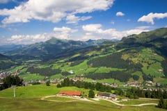 De vallei van Tirol Royalty-vrije Stock Foto
