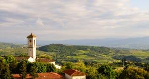 De vallei van Toscanië Royalty-vrije Stock Fotografie