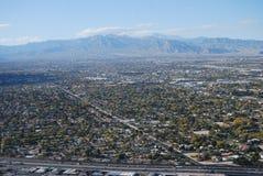 De Vallei van Vegas van Las stock foto