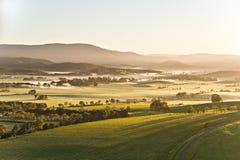 De Vallei van Yarra in Victoria, Australië Stock Afbeeldingen