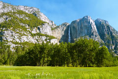 De Vallei van Yosemite Stock Fotografie