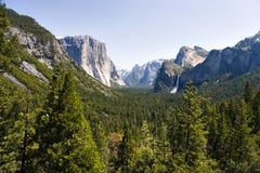 De vallei van Yosemite Royalty-vrije Stock Afbeeldingen
