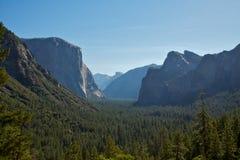 De Vallei van Yosemite Royalty-vrije Stock Foto's
