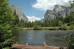 De Vallei van Yosemite Royalty-vrije Stock Afbeelding