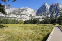 De Vallei van Yosemite bij de Mening van de Tunnel Royalty-vrije Stock Foto