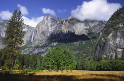 De Vallei van Yosemite na een onweer Royalty-vrije Stock Foto's