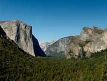 De vallei van Yosemite van de Mening van de Tunnel Royalty-vrije Stock Foto's