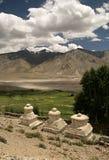 De vallei van Zanskar Stock Fotografie