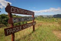 De vallei Vinales in Cuba Stock Afbeelding