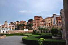 De Valleihuisvesting van Toscanië Royalty-vrije Stock Afbeeldingen