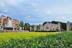 De Valleihuisvesting van Toscanië Royalty-vrije Stock Foto
