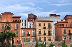 De Valleihuisvesting van Toscanië Stock Afbeelding